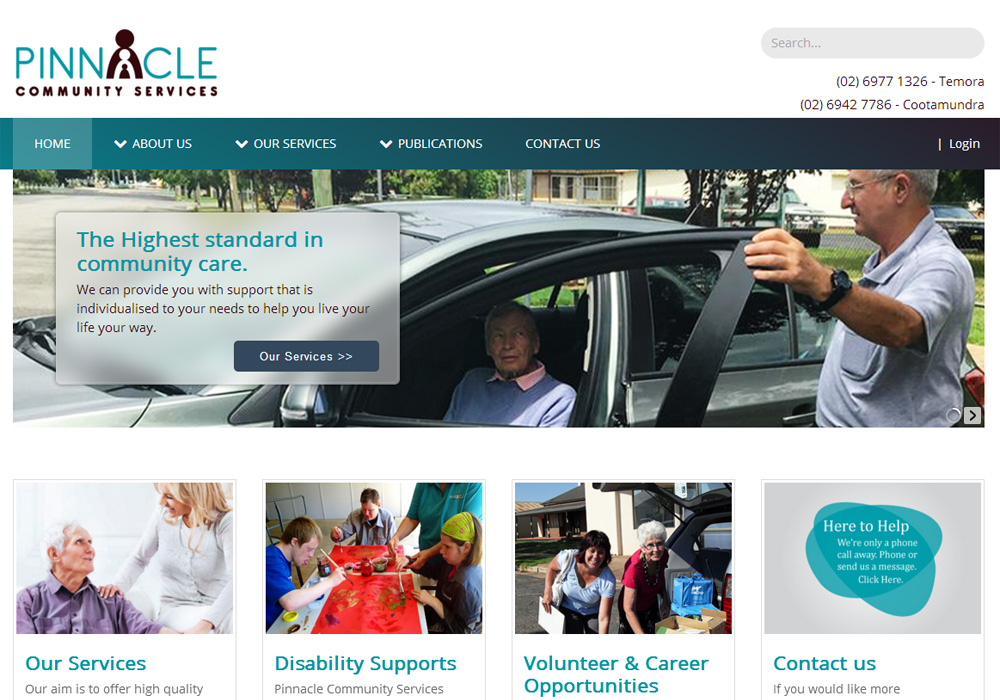 <br/>Pinnacle Community Services