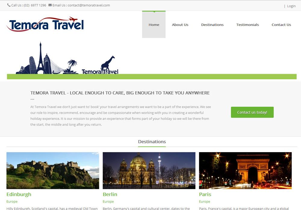 <br/>Temora Travel