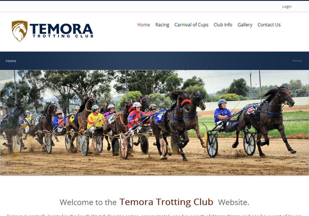 <br/>Temora Trotting Club