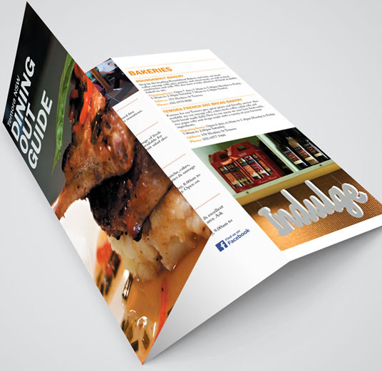 Brochure and flier design and print